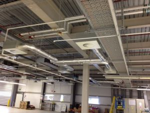 ceiling air con system