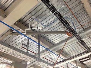 industrial space ceiling