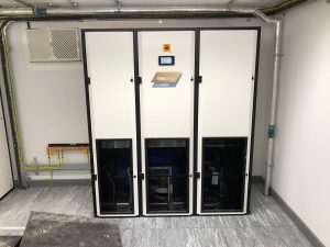 standing downflow units