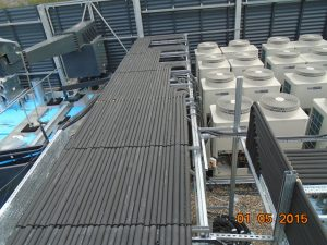 rooftop air con system