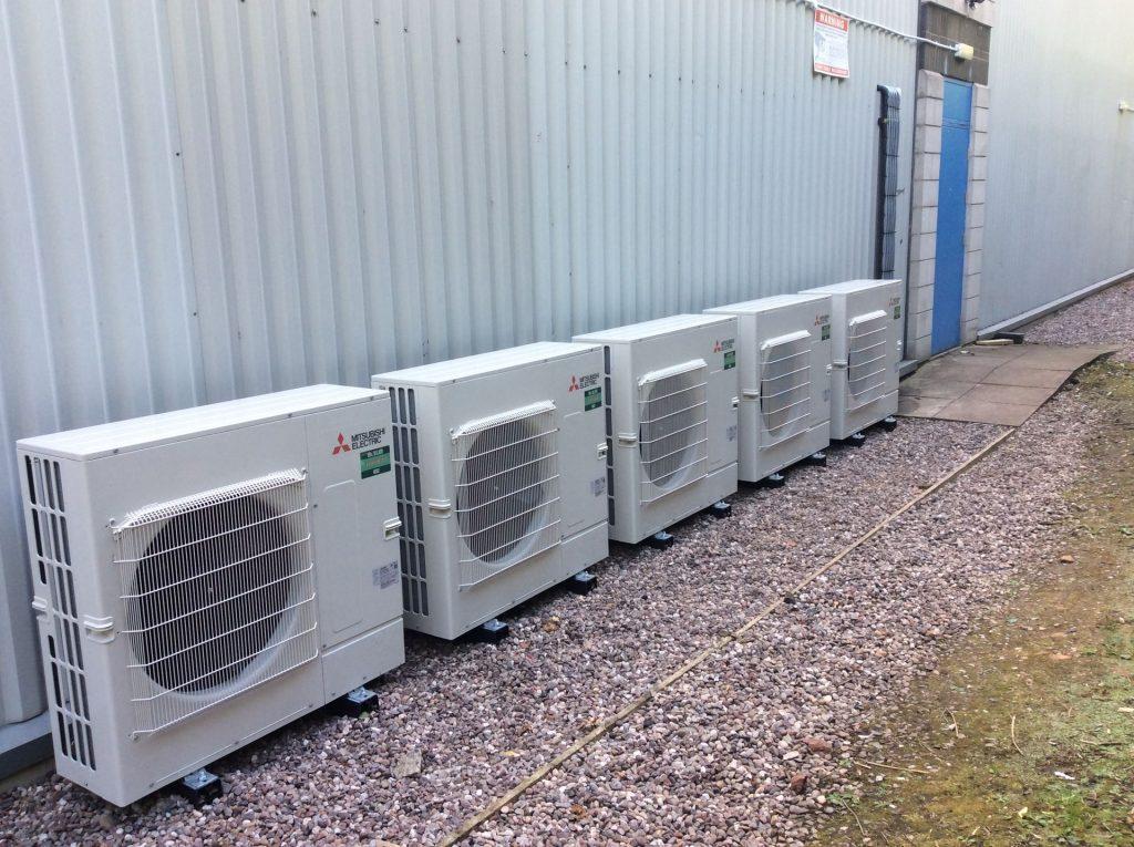 5 factory air con units