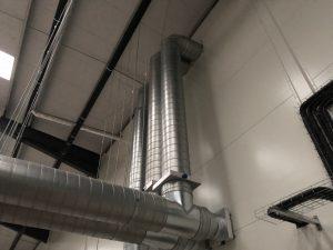 internal duct air con
