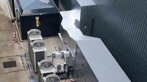 outdoor industrial air-con system