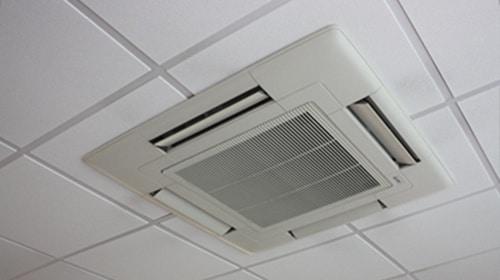casette unit air con installation