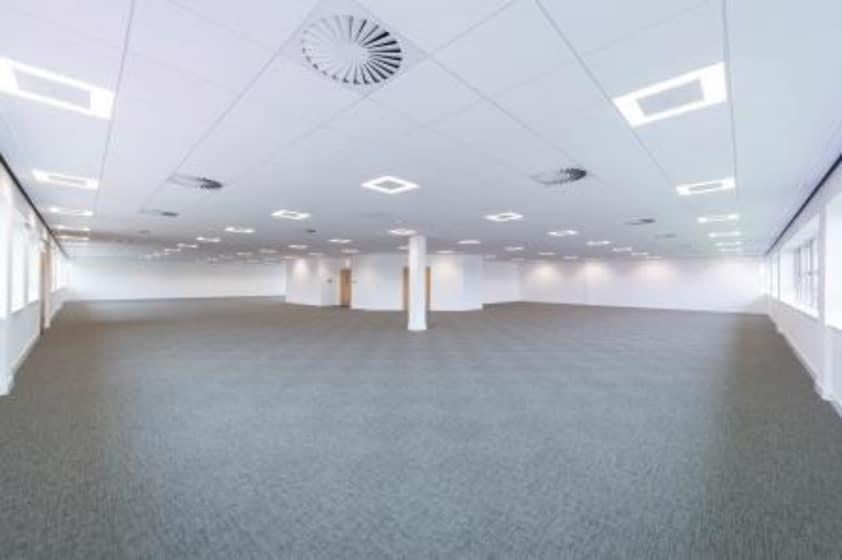 open plan commercial office