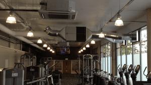 air con in a gym