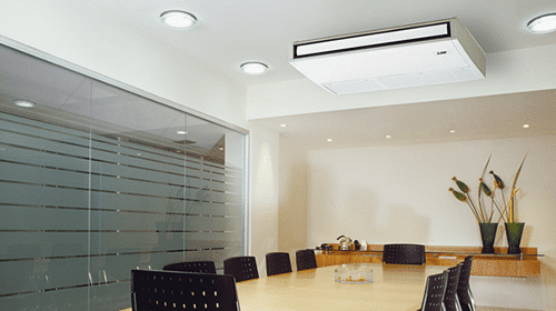 meeting room with air con unit