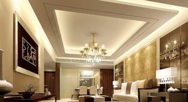grand room and lighting