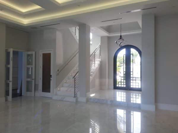 marble hotel foyer