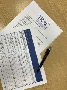 TRAC paperwork